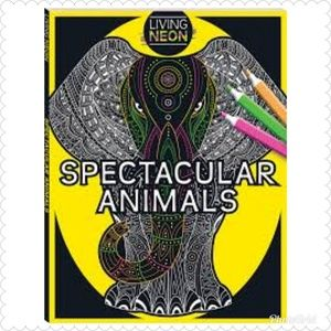 Adult Coloring Colour: Spectacular Animals